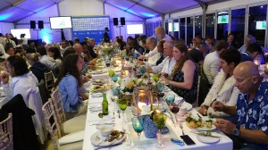 Some of the guests that attended the official launch of the national Ocean Festival at the V&A Waterfront in Cape Town on 30 October 2015 and during which event the country's Marine Tourism and Leisure strategy was launched.