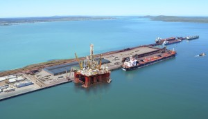An artist's impression of the new facilities to be developed for the oil & gas subsector at the port of Saldanha
