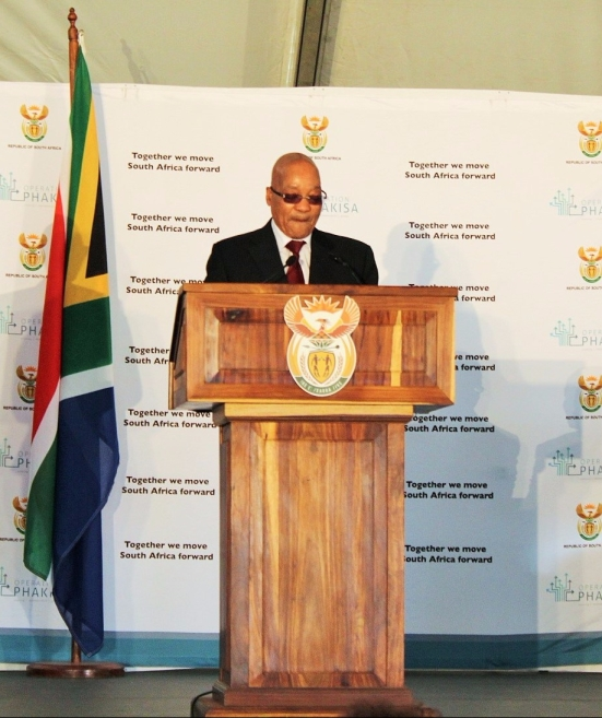 Operation Phakisa (Ocean Economy) Progress Report: President Jacob Zuma delivering his report television live from Port Elizabeth on Friday, 08 April 2016