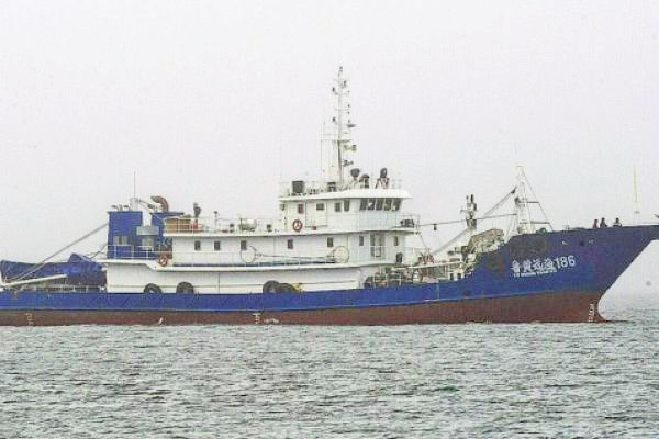 An image of the Chinese vessel, Lu Huang Yuan Yu 186. Courtesy of Independent Online