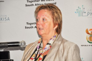 Norwegian ambassador to South Africa Ms Trine Skymoen in Port Elizabeth, Eastern Cape on Monday.