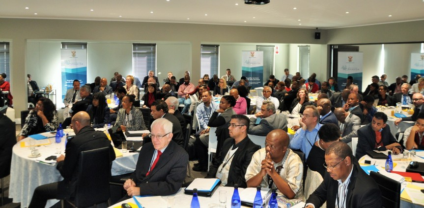 Delegates to the Operation Phakisa (Ocean Economy) two day seminar currently being held in Port Elizabeth, Eastern Cape.