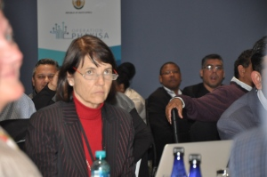 Ms Judy Beaumont, acting Director General of the Department of Environmental Affairs