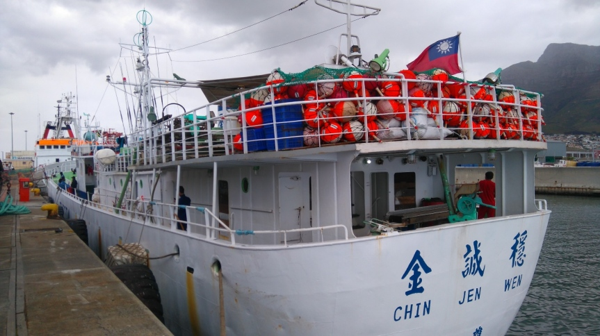 RELEASED: Taiwanese fishing vessel released by South African authorities on Tuesday after it was arrested earlier this month and on inspection by SAMSA, was found to have violated anti-pollution conventions governing management of vessels at sea.