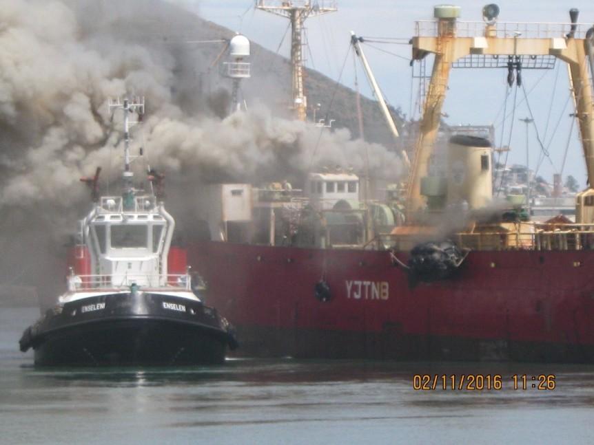 vessel-fire