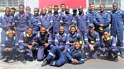 TRAILBLAZERS: The Department of Maritime Studies has teamed up with industry and the College of Cape Town to train marine engineering students in workshop skills which are needed before they start working on ships