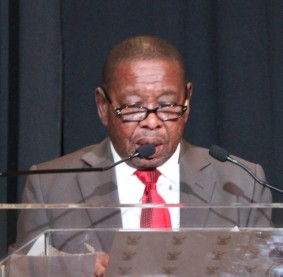 Dr Blade Nzimande. Minister of Higher Education and Training