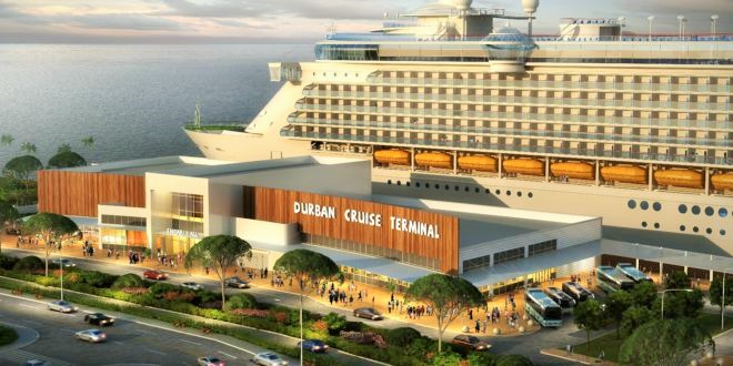 World Class Cruise Terminal Durban 3152017. An artist's impression