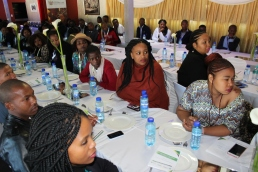 Some of the 130 youths from the Eastern Cape selected for training in a set of marine tourism skills related to cruise ships under the SAMSA driven Maritime Youth Development Programme during launch of the project in East London on Friday