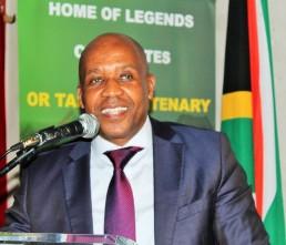 Mr Phumulo Masualle. Eastern Cape Premier
