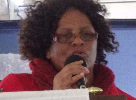 Ms Lindelwa Kolobile. Port St Johns mayor