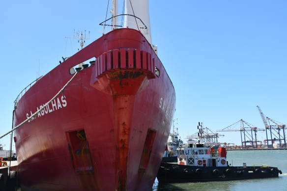 SA Agulhas sets sail for Antarctica with new cadets on board