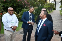 Getting the buzz of the South Africa maritime sector during this year's SAMSA stakeholder's dinner ahead of the opening of South Africa's Parliament in February 2018