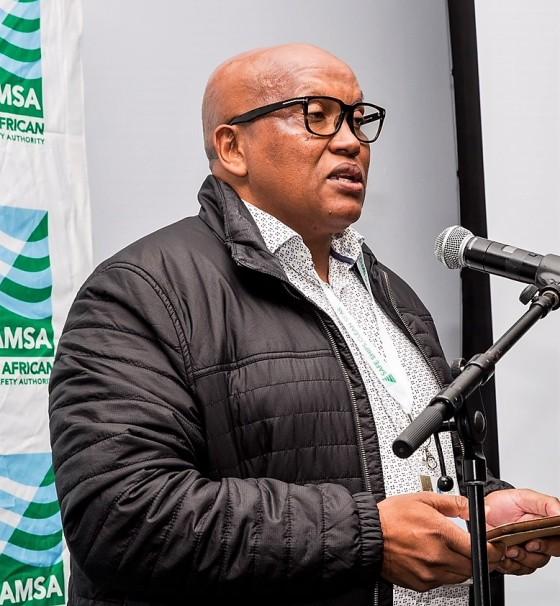 Mr Odwa Mtati. Projects Manager: SAIMI